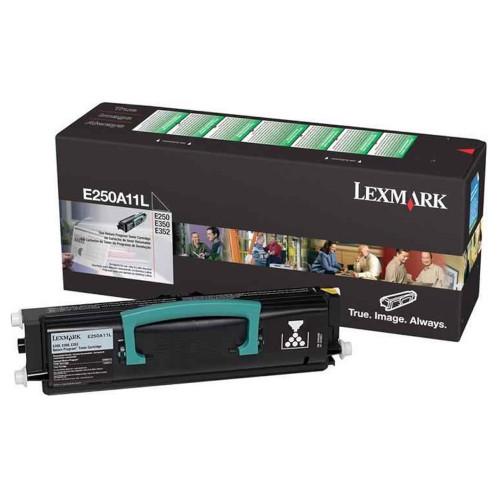 TONER LEXMARK E250A11L BLACK  - E250A11L - 1