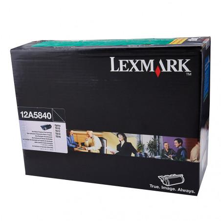 TONER LEXMARK 12A5840 BLACK - 12A5840 - 1