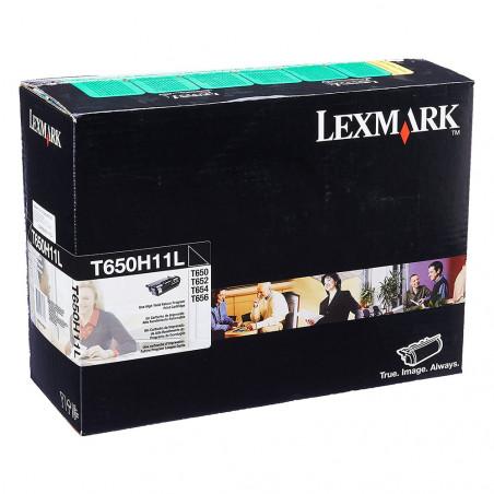 TONER LEXMARK T650H11L BLACK - T650H11L - 1
