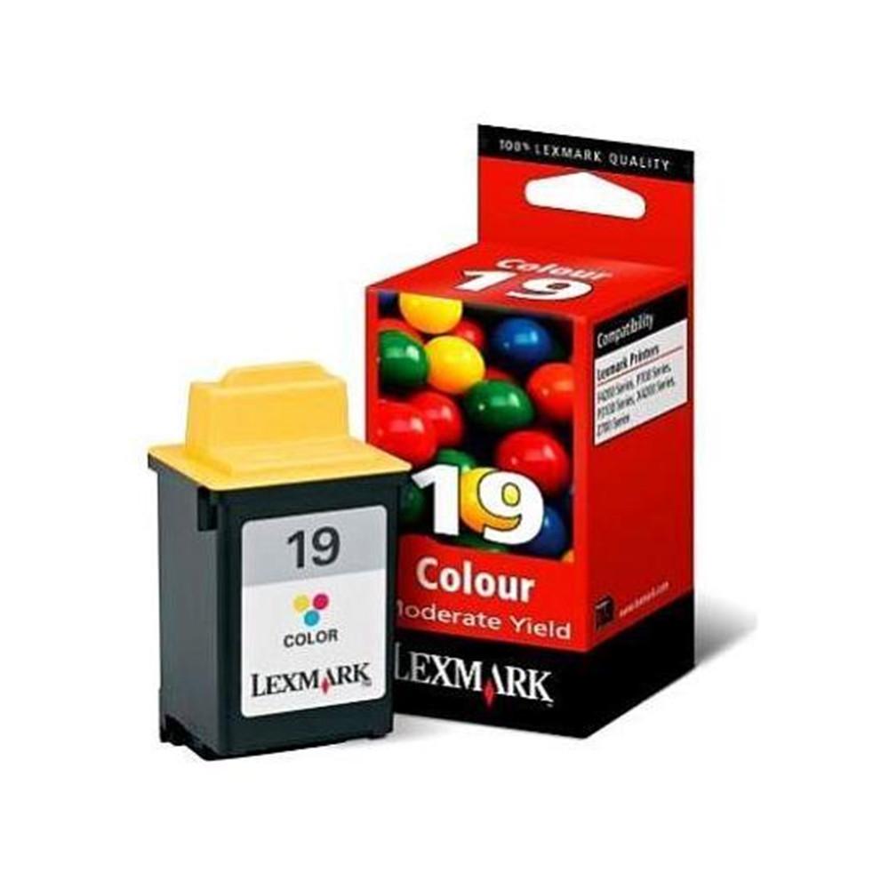 CART LEXMARK 15M2619 (19) COLOR - 15M2619 - 1