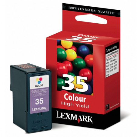 CART LEXMARK 18C0035 (35) COLOR - 18C0035 - 1