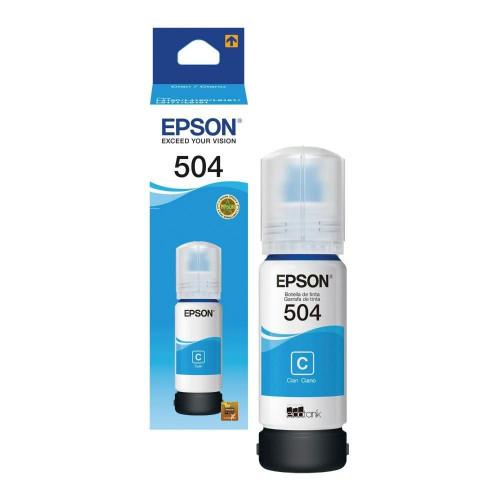 TINTA EPSON T504220-AL CYAN...