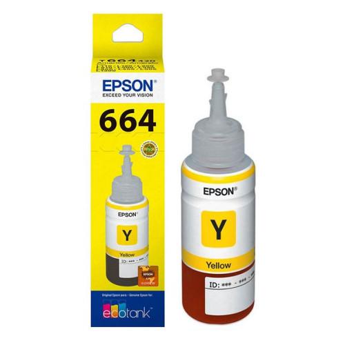 TINTA EPSON T664420 AMARELO...