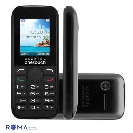 Celular Alcatel 1052D Duos Negro 1052D-3AOFUS1 - 3