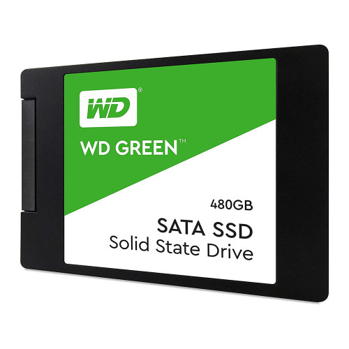HD SSD  480 GB WESTERN DIGITAL GREEN WDS480G2G0A - WDS480G2G0A - 1