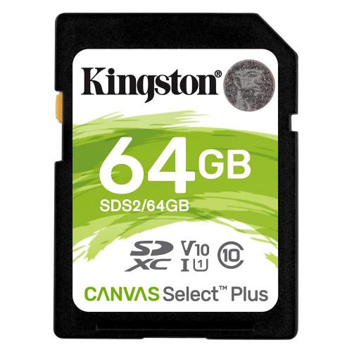 MEMORY SDHC  64 GB KINGSTON...