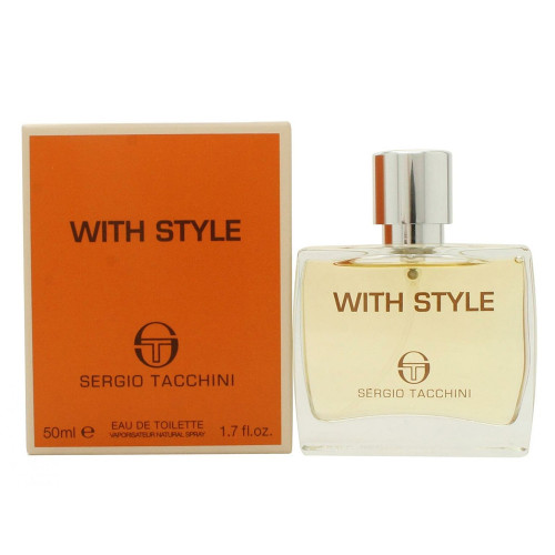 PERF.SERGIO TACCHINI WITH STYLE EDT 50ML - 8002135119345 - 1
