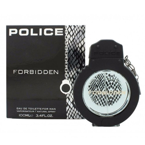 PERF.POLICE FORBIDDEN FOR MAN EDT 100ML - 679602591218 - 1