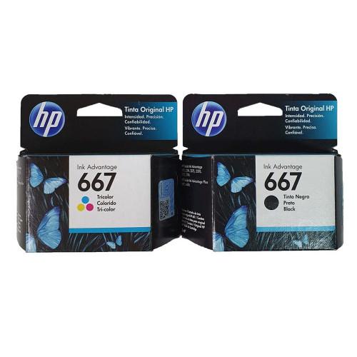 CART HP 3YM78AL (667) COLOR...