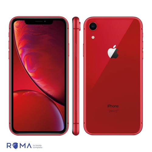 Apple iPhone XR 64GB Rojo...