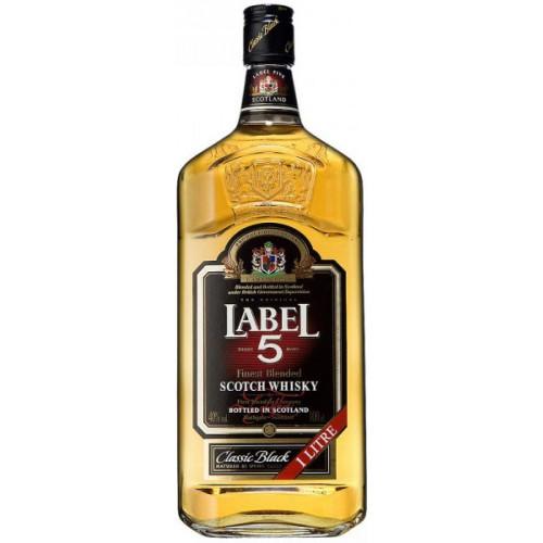 BEB.WHISKY SCOTCH LABEL 5 8...