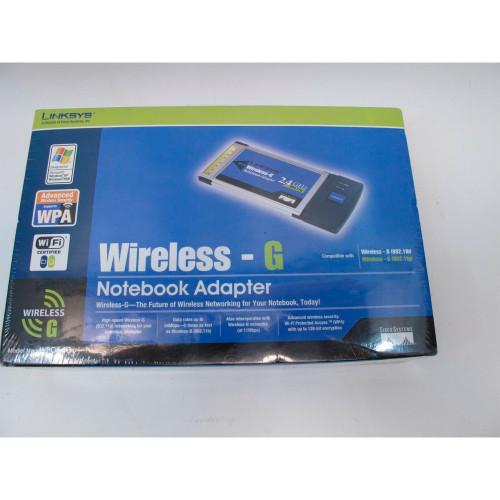 W.PCMCIA LINKSYS WPC54G...