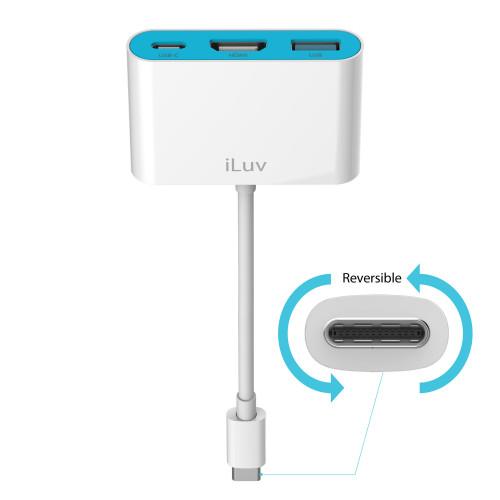 Adaptador iLuv USB-C para...