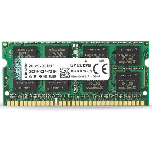 MEM NB DDR3 8 GB 1333M...