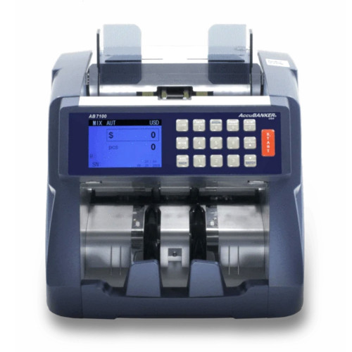 ACCUBANKER AB7100 MIXED...