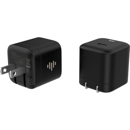 ILUV IAD520PDULBK 20W USB-C...