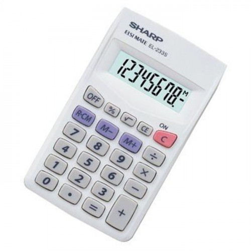 Calculadora Sharp 8-digit...