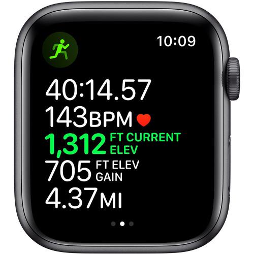 Apple Watch Series 5 44mm (GPS, Aluminio Gris Espacial, Pulsera Sport Negro) MWVF2LL/A A2093 - 2
