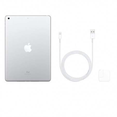 """Apple iPad 7 32GB (10.2"""", Wi-Fi, Plateado) MW752LL/A - 4"""
