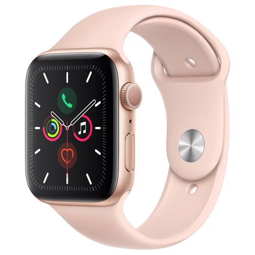 Apple Watch Series 5 44mm (GPS, Aluminio Dorado, Pulsera Sport Rosa Arena) MWVE2LL/A A2093 - 1