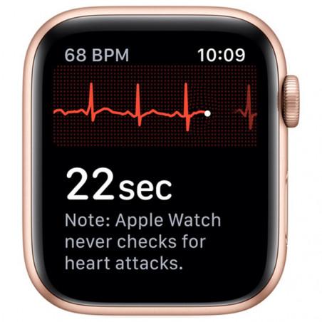 Apple Watch Series 5 44mm (GPS, Aluminio Dorado, Pulsera Sport Rosa Arena) MWVE2LL/A A2093 - 3