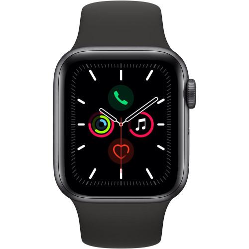 Apple Watch Series 5 40mm (GPS, Aluminio Gris Espacial, Pulsera Sport Negro) MWV82LL/A A2092 - 2