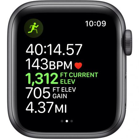 Apple Watch Series 5 40mm (GPS, Aluminio Gris Espacial, Pulsera Sport Negro) MWV82LL/A A2092 - 4