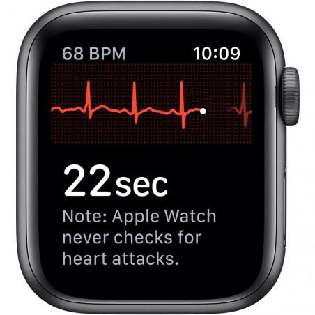 Apple Watch Series 5 40mm (GPS, Aluminio Gris Espacial, Pulsera Sport Negro) MWV82LL/A A2092 - 5