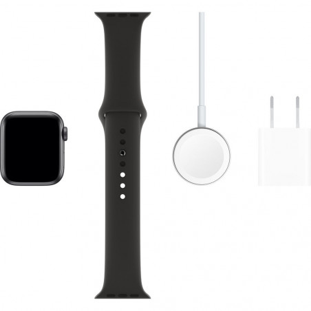 Apple Watch Series 5 40mm (GPS, Aluminio Gris Espacial, Pulsera Sport Negro) MWV82LL/A A2092 - 6