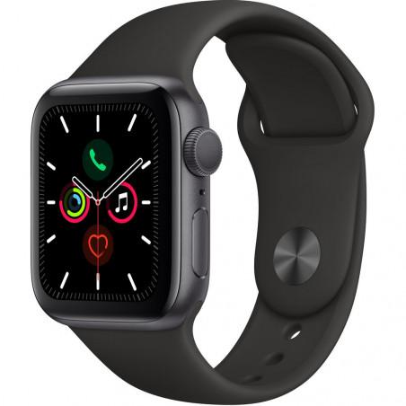 Apple Watch Series 5 40mm (GPS, Aluminio Gris Espacial, Pulsera Sport Negro) MWV82LL/A A2092 - 1