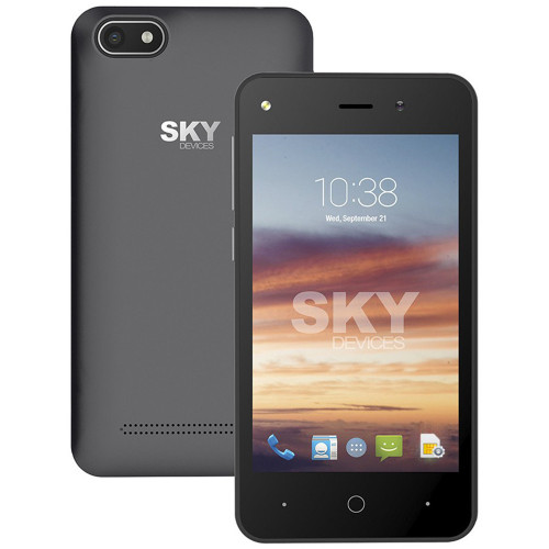 Smartphone Sky Divices Platinium 4.0 Gris 4GB 40PGY4G21 - 2