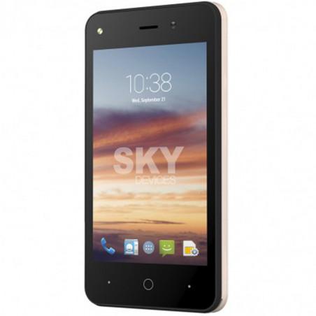 Smartphone Sky Divices Platinium 4.0 Dorado 4GB 40PGD4G21 - 4