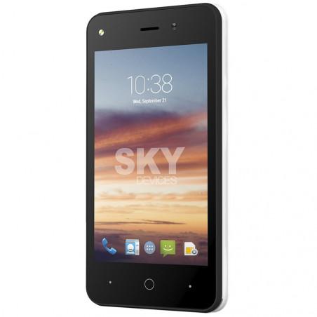 Smartphone Sky Divices Platinium 4.0 Blanco 4GB 40PWH4G21 - 3