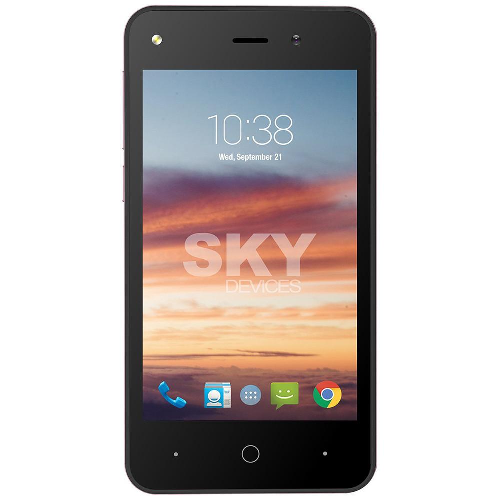 Smartphone Sky Divices Platinium 4.0 Blanco 4GB 40PWH4G21 - 1