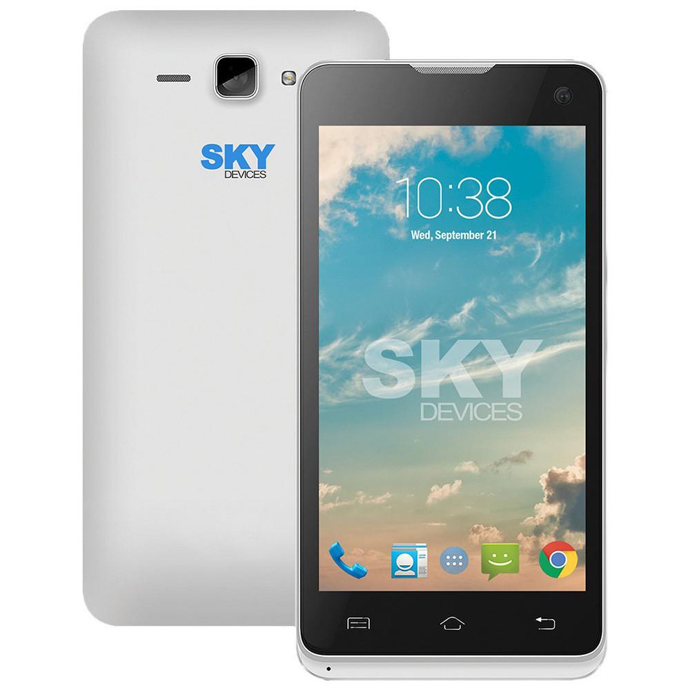 Smartphone Sky Divices 4.5D Plateado Anatel 45DSL21 - 1
