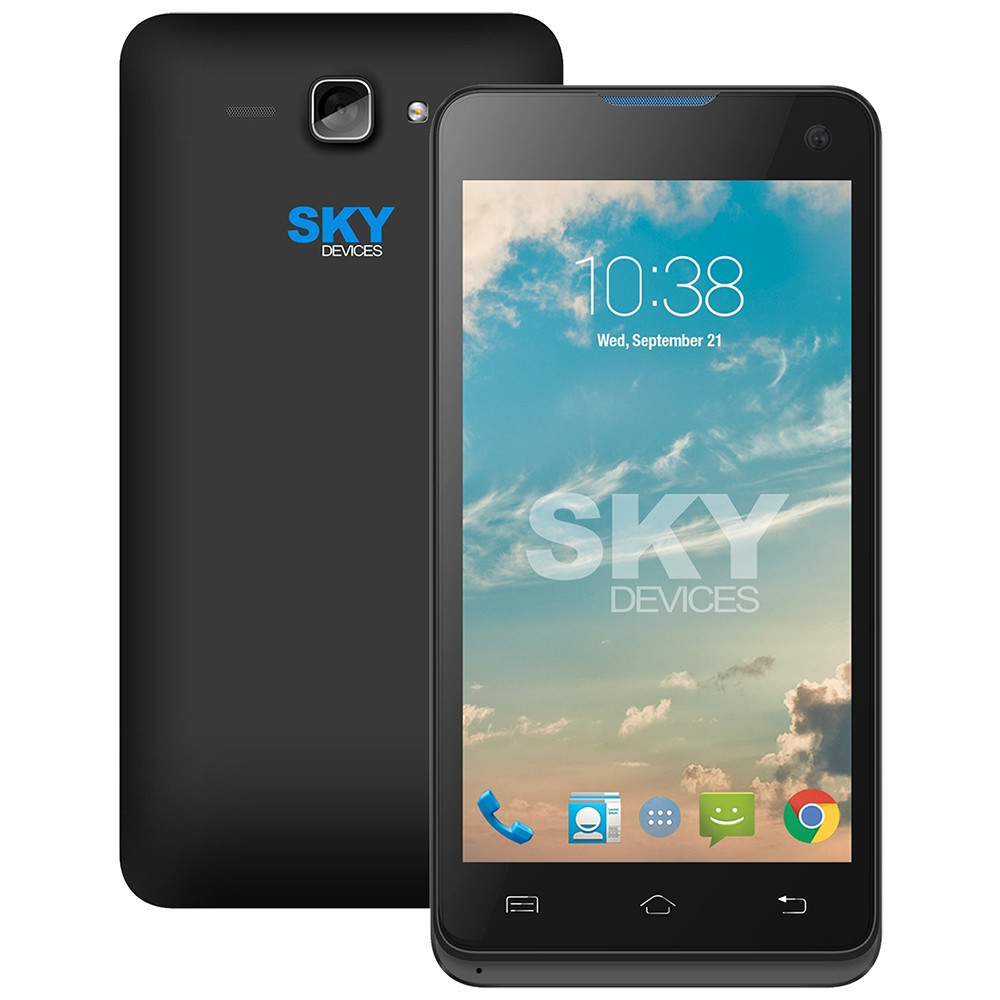Smartphone Sky Divices 4.5D Negro Anatel 45DBK21 - 1