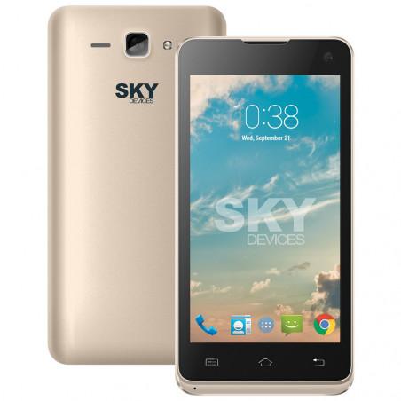Smartphone Sky Divices 4.5D Dorado Anatel 45DGD21 - 1