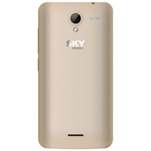 Smartphone Sky Divices 4.0D Dorado Anatel 40DGD21 - 2
