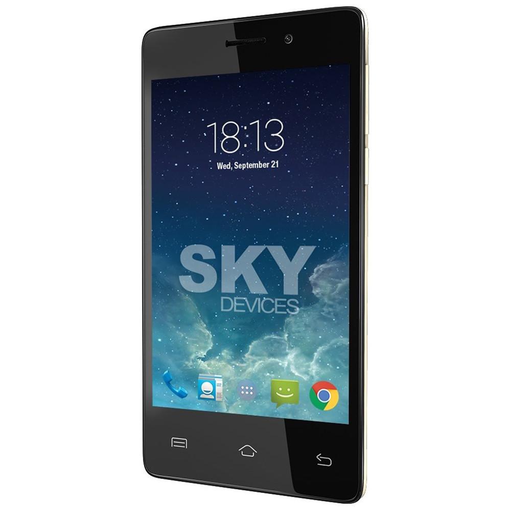 Smartphone Sky Divices 4.0D Dorado Anatel 40DGD21 - 1