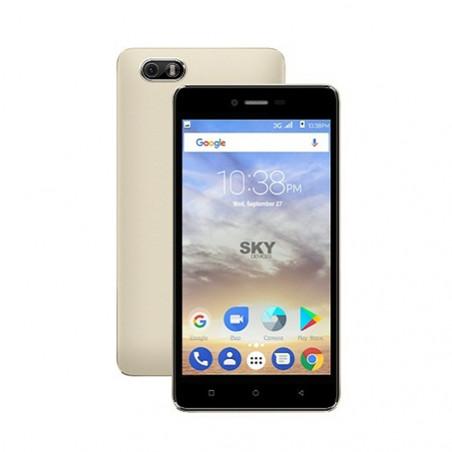 Smartphone Sky Devices Platinum 5.0 Dorado 50PGD17 - 1