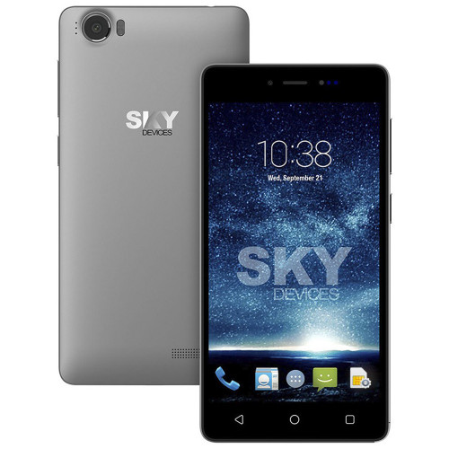Smartphone Sky Devices Fuego 5.0+ Gris 4GB 50FPGY4G21 - 1