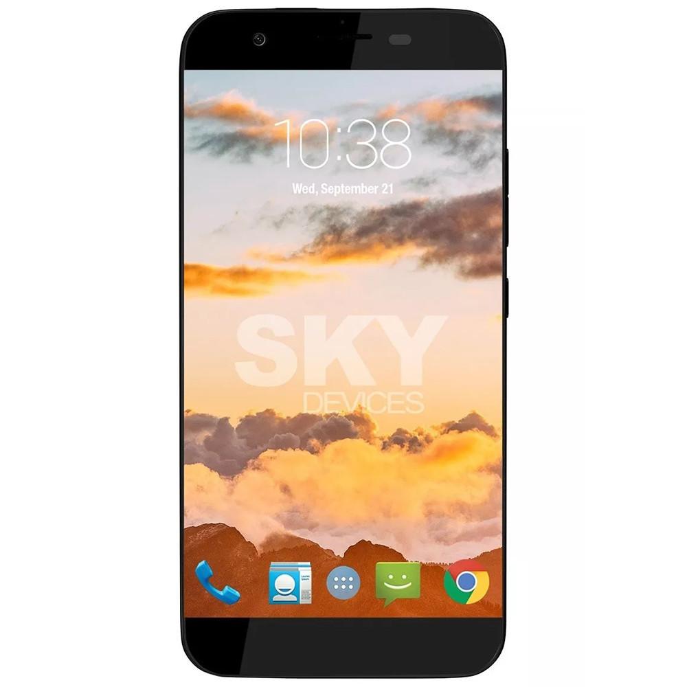 Smartphone Sky Devices 5.0 Platinum Plus Negro 50PPBK21 - 1