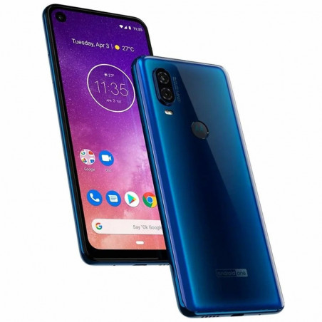 Smartphone Motorola Moto One Vision Duos 128GB Azul XT1970-1 - 3