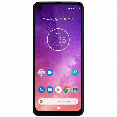 Smartphone Motorola Moto One Vision Duos 128GB Azul XT1970-1 - 1