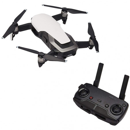 Drone DJI Mavic Air Fly More Combo Arctic Blanco Br - 4