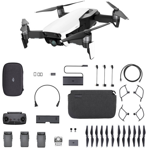 Drone DJI Mavic Air Fly More Combo Arctic Blanco Br - 2