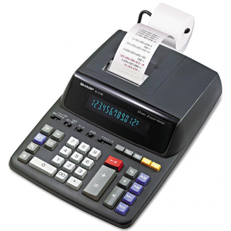 Calculadora con Impresora Sharp EL-2196BL 110V - 1