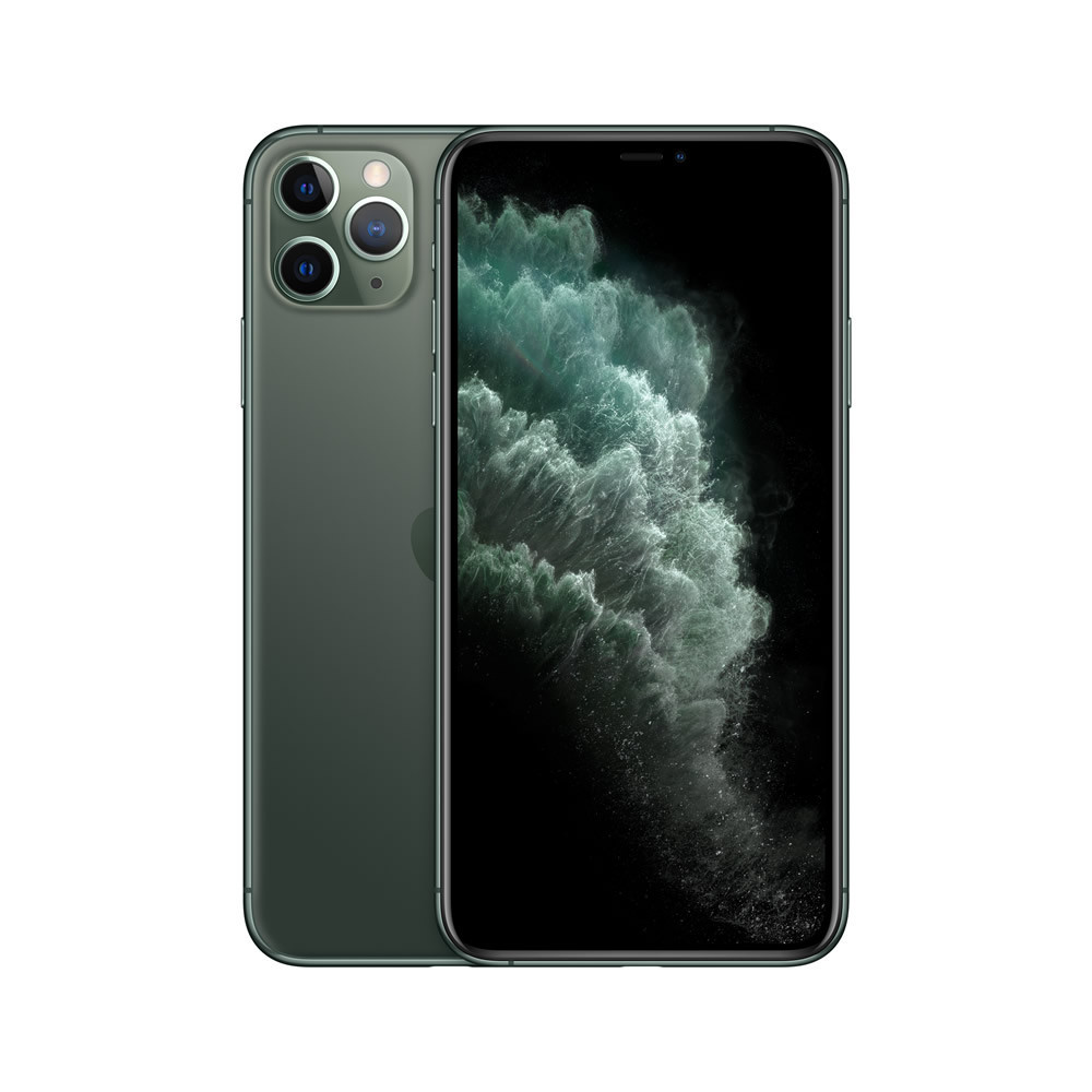 Apple iPhone 11 Pro Max 256GB Verde Media Noche MWHM2BZ/A A2218 - 1