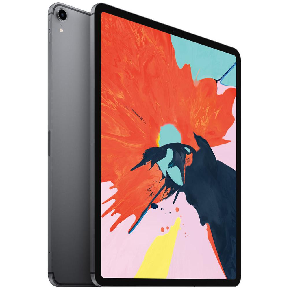 """Apple iPad Pro 64GB (12.9"""", Final 2018, Wi-Fi+4G, Gris Espacial) MTHN2LL/A - 1"""