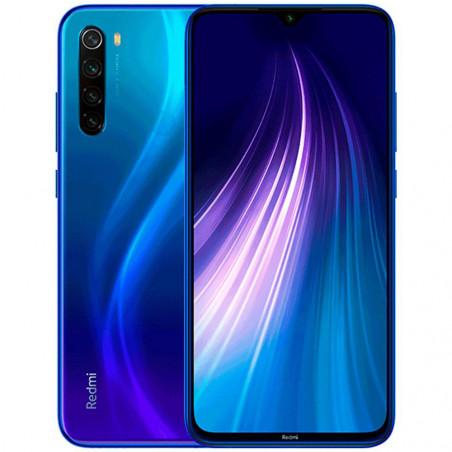 Smartphone Xiaomi Note 8 128GB Neptuno Azul XIA-REDMINOTE8-128-NB - 3